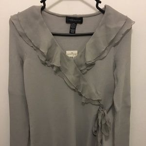 Cable & Gauge Gray Shell - Size S - NWT